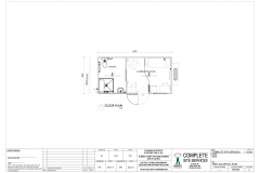 6m x 3m First Aid Office Plan