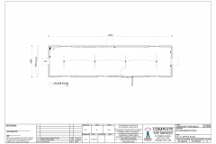 12.0m x 3.0m Office Plan