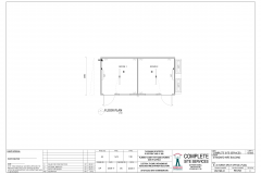 6.0m x 3.0m Event Office Plan