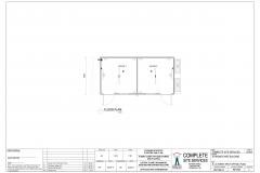6.0m x 3.0m Event Office Plan