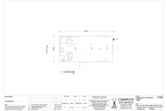 6.8m x 3.3m Office & Ablution Plan