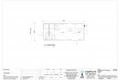 7.2m x 3.0m Office & Ablution Plan