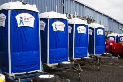 Portable Toilets - Trailer